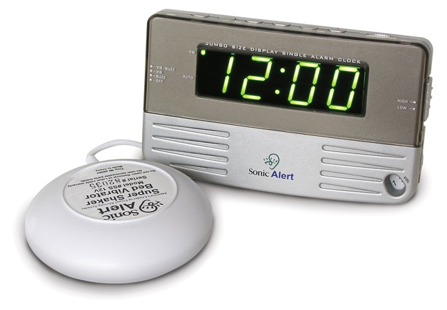 Sonic Boom SB200ss Vibrating Travel Alarm Clock